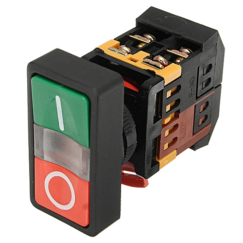 AC 600V 10A On/Off Start Stop Momentary Push Button Switch