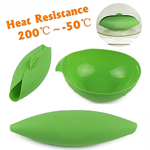 Creative High Temperature Silicone Food Steamer Bowl Folding Fish Egg Microwave Oven Baking Cooking Tools