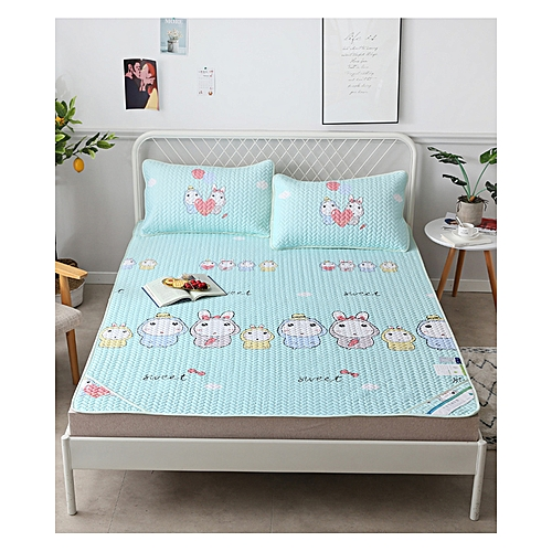 Air Conditioning Soft Cool Bed Mat TMTL Three Pieces Sets