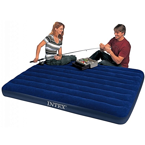 Twin Size Classic Downy Inflatable Air Bed Mattress - 2 Persons