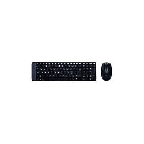 Hp Mk-220 Wireless Keyboard And Mouse Combo (Black) MK220