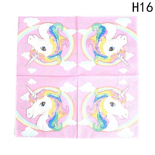 Kids Unicorn Theme Party Decoration Supplies H16