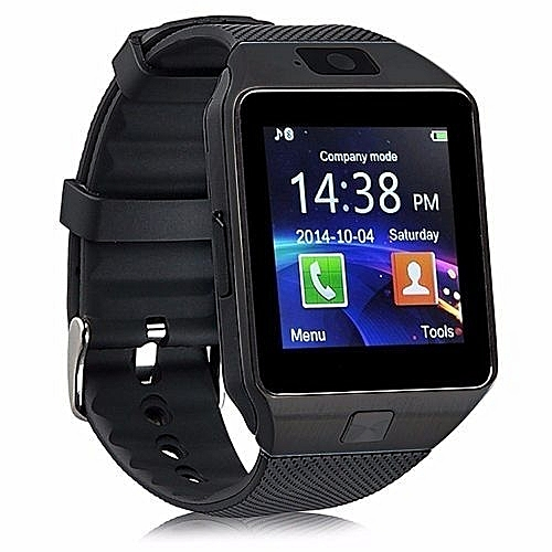 Buy Smartwatch DZ09 Bluetooth Smart Watch With Camera Phone Support