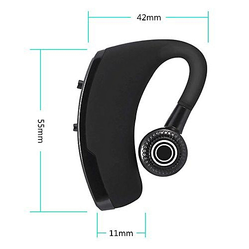 V9 Wireless Bluetooth Earphone Handsfree Universal Black