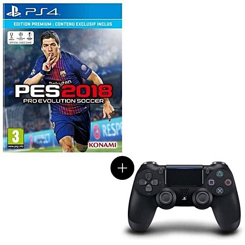 Pes18 / Pes 19 PS4 + Dualshock Controller GamePad (2-IN-1)