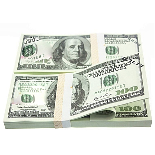 American Gold Foil Dollar Banknote Fake Money Art Crafts Highly Collection Gold