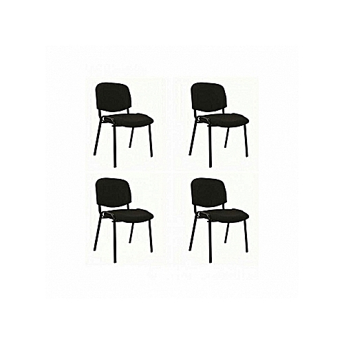 Fabric Visitor/Conference Office Chair - 4 Pcs