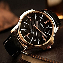 e5acd317068 Top Luxury Brand Watch Famous Fashion Sports Cool Men Quartz Watches  Wristwatch Gift For Male Black