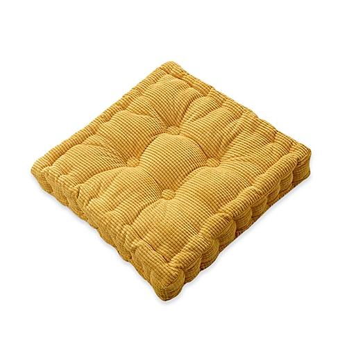 40 X 40cm Washable Corduroy Tatami Floor Seat Cushion Square Plaid Winter Warm Chair Pad Cushion