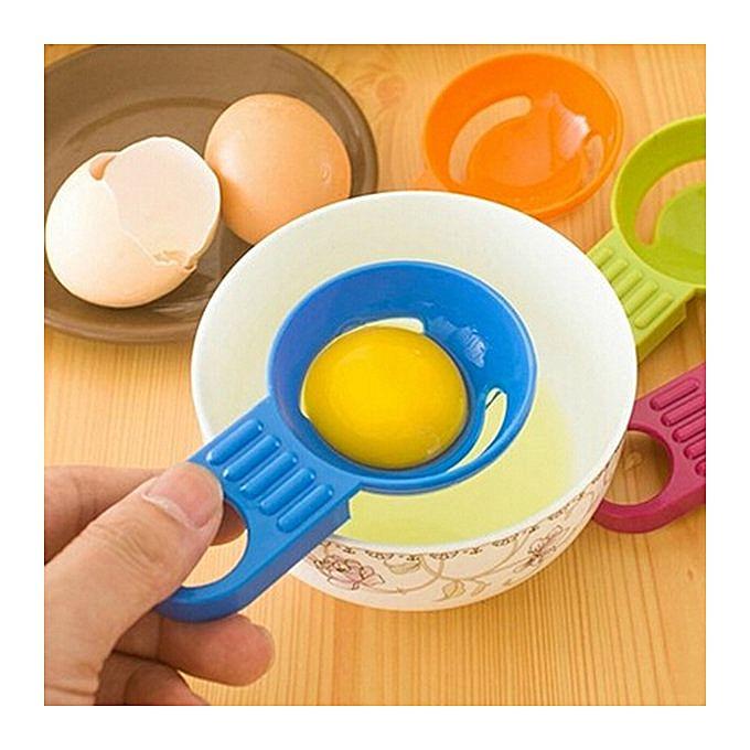 Bluelans Kitchen Tool Gadget Convenient Egg Yolk White