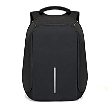 Anti-Theft Backpack USB Port Laptop Charging Travel Bag