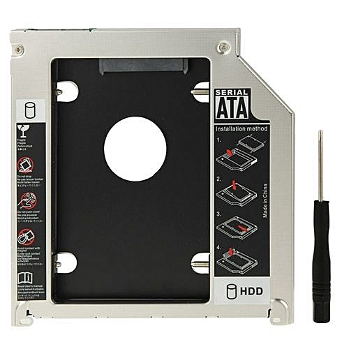 SATA To SATA For AppleBook Pro - Second HDD Hard Drive Caddy