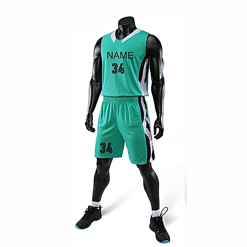 Eufy Best Sale Customized Casual Men's Basketball Team Sport Jersey Uniform-Green(3035)