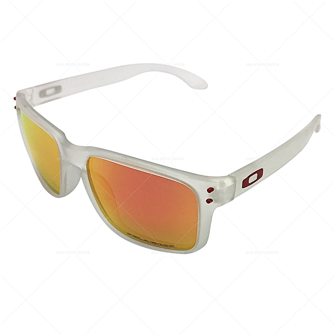 6b9992c4ef16a Oakley Holbrook Polarized Sunglasses OO9102 - White Ruby