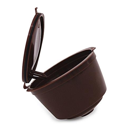 Coffee Filter Capsule Cup - Brown