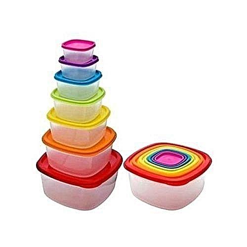 Microwave Bowls - Colourful 7 Set Bowls