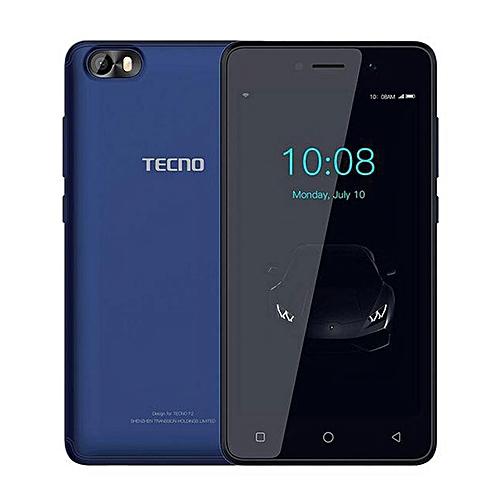 F1 5-Inch (1GB, 8GB ROM) Android 8 Oreo (Go Edition), 5MP + 2MP Dual SIM 3G Smartphone - Dark Blue