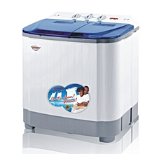Qasa Double Tubs Semi-Automatic Washing Machine- 5/3kg