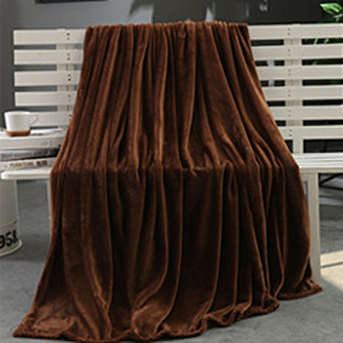 Hiamok_Dtrestocy Super Soft Warm Solid Warm Micro Plush Fleece Blanket Throw Rug Sofa Bedding