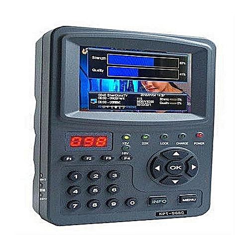 KPT 968G HD Satellite Finder And Multifunctional CCTV Monitor