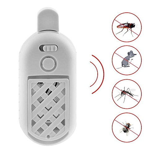 Hot Sale Portable USB Ultrasonic Electronic Mosquito Repeller 5V 2A Indoor Mosquito Rodent Rat Mice Bed Bug Insect Repellent