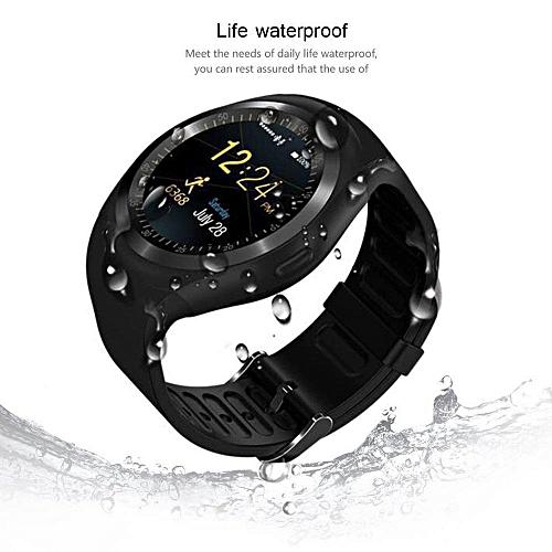 D08 Smartwatch Sports Waterproof Bluetooth Smart Watch For Android Smart Wristwatch(Black)