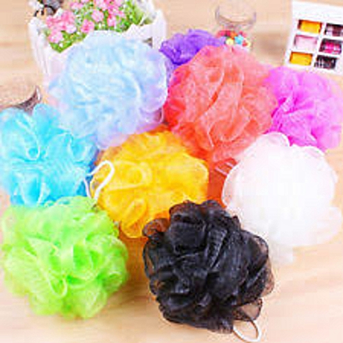 10 Resalable - Multi Purpose - Bathing Sponge + 3 Soap Cases