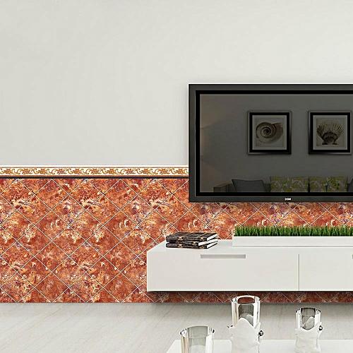 Fashion 40x100cm Adhesive Tile Art Metope Wall Decal Sticker DIY Kitchen Bathroom Decor