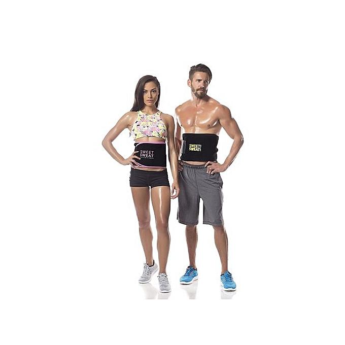 4868bec9ef2 Sweet Sweat Unisex Sweet Sweat Unisex Premium Waist Trimmer Belt For ...