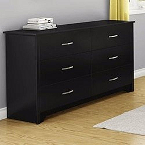 6 Chest Drawers Storage -Walnut(Delivery Within Lagos Only)