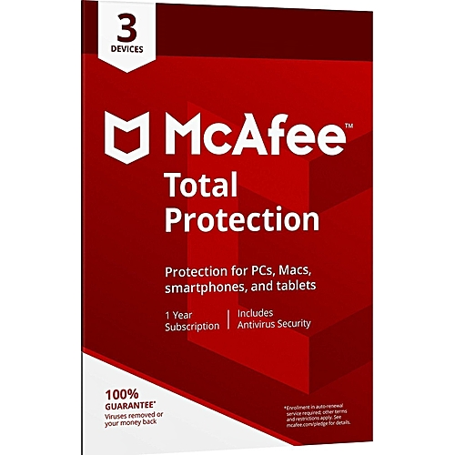 Total Protection 2019 Antivirus - 3 Devices [PC/Mac Download], 1 Year (Subscription)