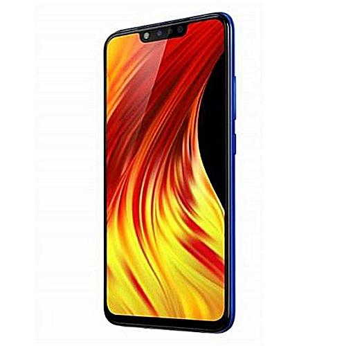 HOT 7 Pro (X625B) 6.2-Inch HD+ (3GB,32GB ROM) Android 9 Pie (13MP+2MP) (13MP+2MP) 4000mAh Dual SIM 4G Smartphone - Aqua Blue (MW-19)