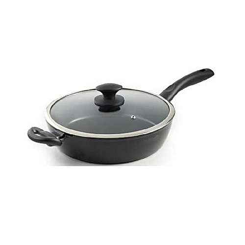 Non Stick Fry Pan With Lid 34CM