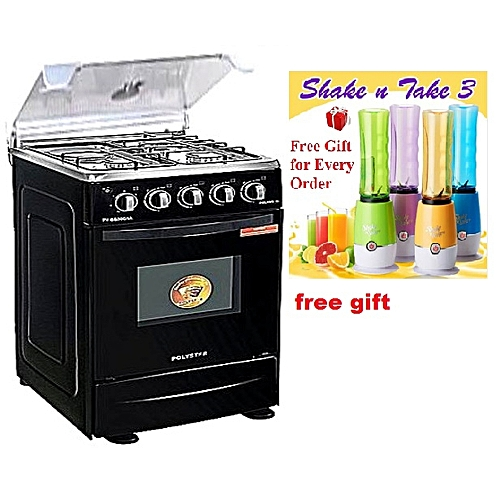 4 Burner Oven Grill Gas Cooker