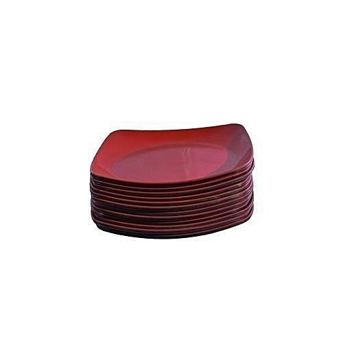 12pcs Unbreakable Ceramic Plates