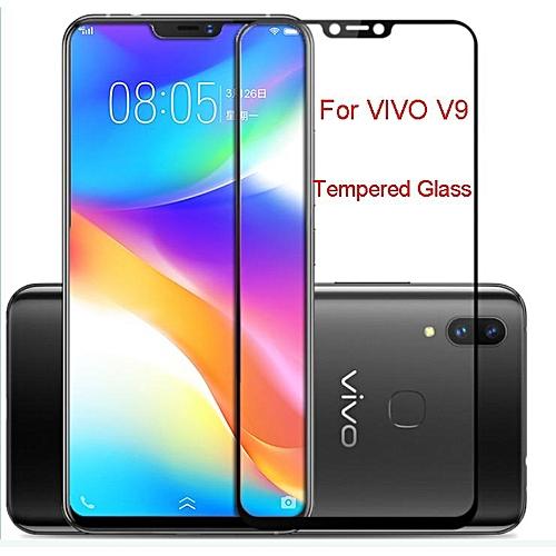 Tempered Glass For VIVO V9 9H 2 5D Full Screen Coverage Screen Protector  For Vivo V9 266870