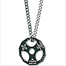 Used, High Quality Barbell Dumbbell Weight Plate Steel Necklaces for sale  Nigeria