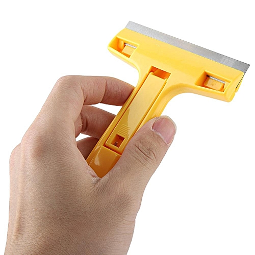 Window Glass Floor Cleaner Wiper Hand Scraper Adhesive Removal Cleaning Tools