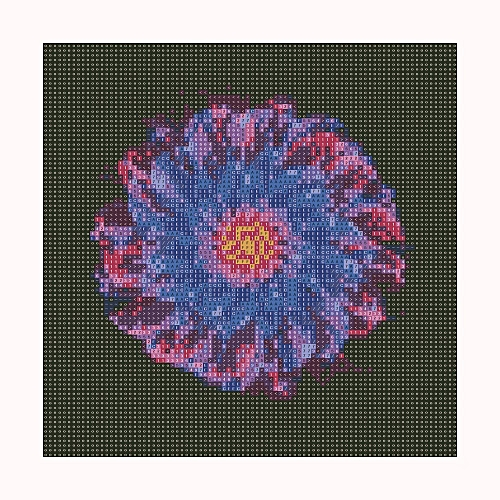 Jummoon Shop 5D Flowers DIY Diamond Painting Embroidery Cross Craft Stitch Home Decor Art