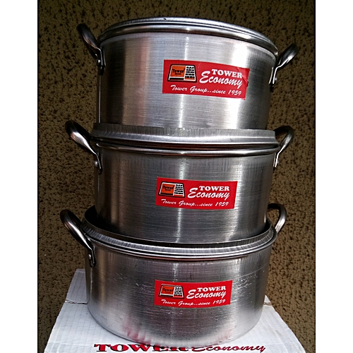 3 Set Of Cooking Pots Cookware