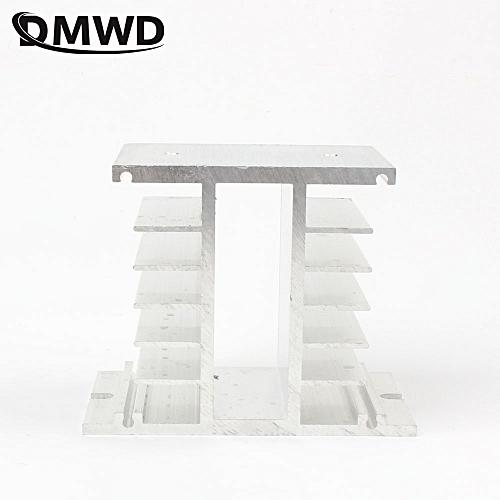 TOP BRAND DMWD Solid State Radiator Ssr Single Phase Solid State Relay 50-100A 50A 60A 75A 80A 100A 125*50mm Aluminum Heat Sink