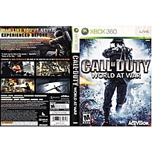 Used, Call Of Duty World At War Xbox 360 Game Pal for sale  Nigeria