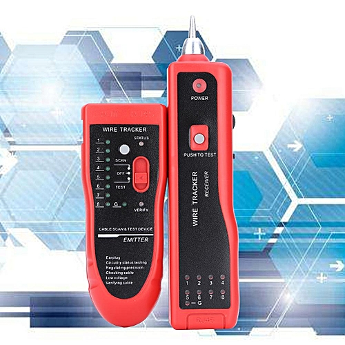 Telephone Wire Tracker Tracer Network Cable Tester Detector Line Finder
