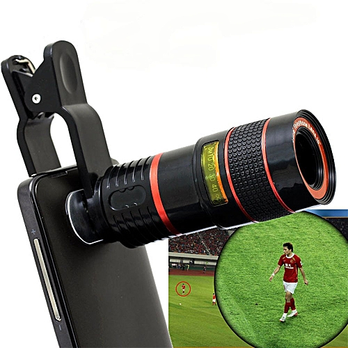 LIEQI LQ - 007 Multi-coating Glass Universal 8X Zoom Telephoto Lens Shutterbug Necessary For IPhone 6 Plus IPad Air Samsung Galaxy S6 Edge Notebook PC Etc.