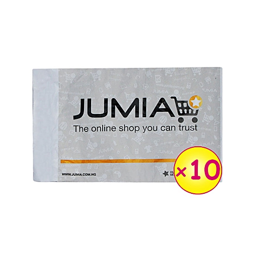 10 Large Jumia Branded Fliers (412mm x 567mm x 52mm)