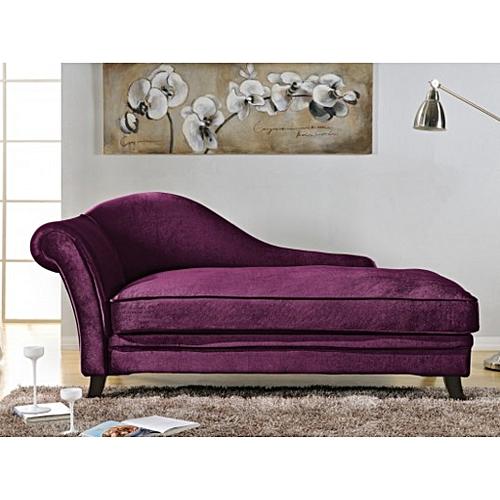 PK Royal Velvet Chaise Lounge