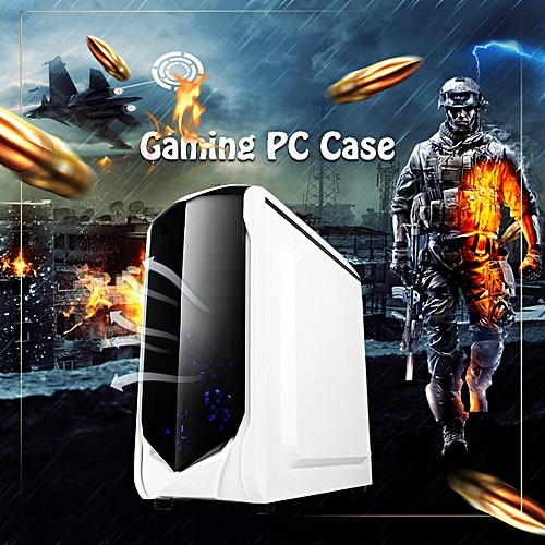 Computer Gaming PC Case For Micro-atx Mini-i All Side Through Home Game Office