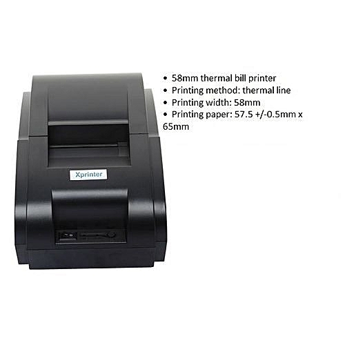 Xprinter 58mm Cash Receipt Thermal Printer