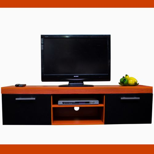Universal Kut Tv Stand Cherry And Black Delivery Within