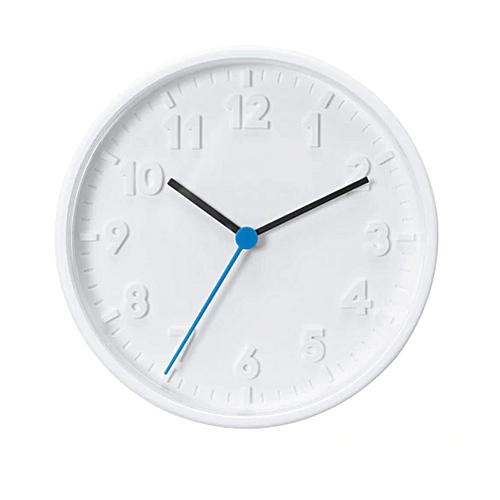 STOMMA Wall Clock, White